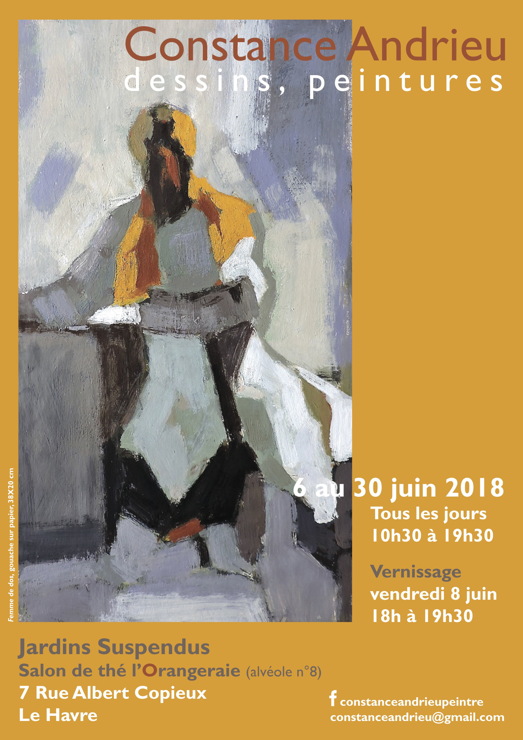 Exposition Le Havre juin 2018 - Constance Andrieu