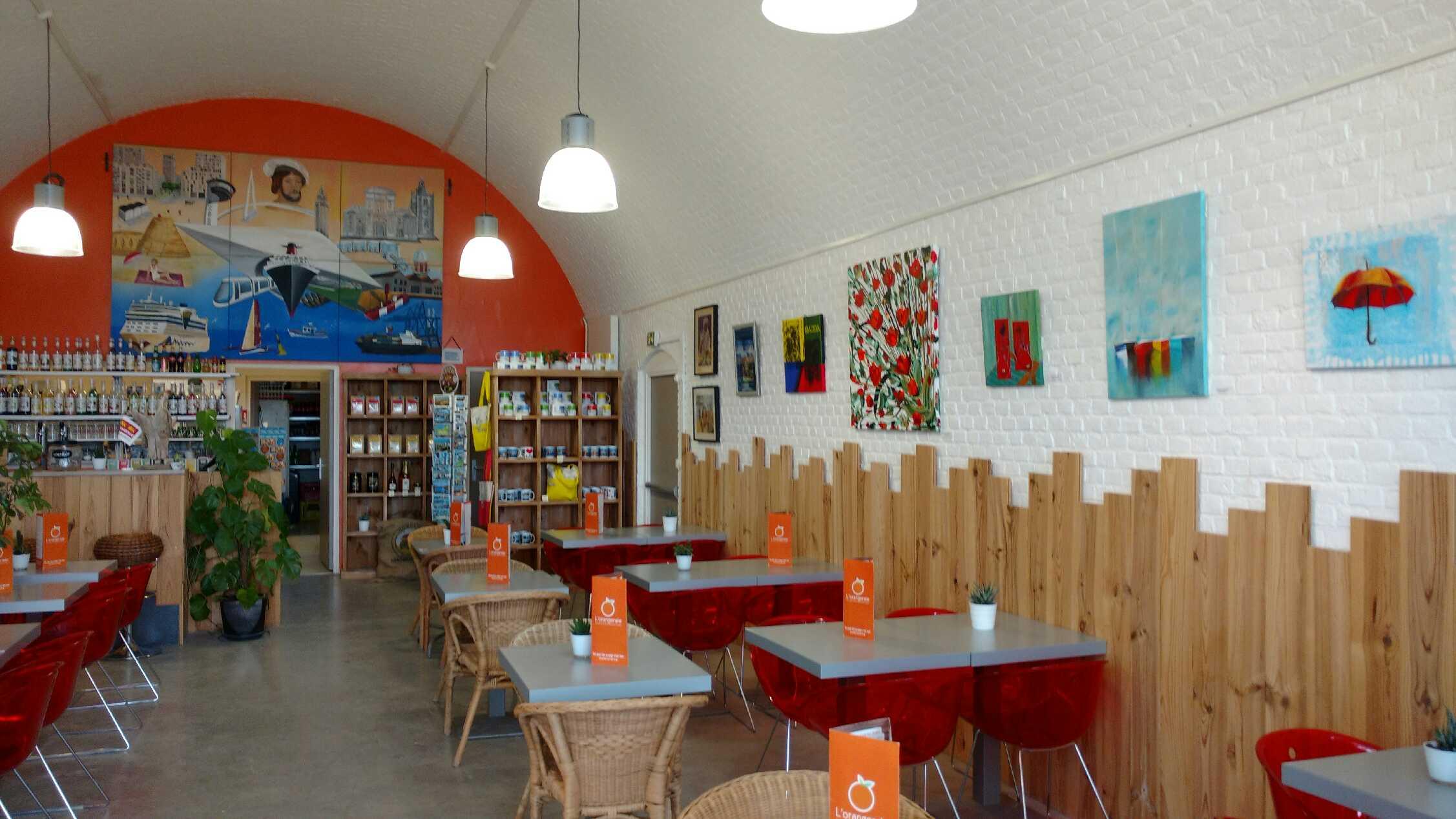 Exposition Le Havre, salon de thé le havre