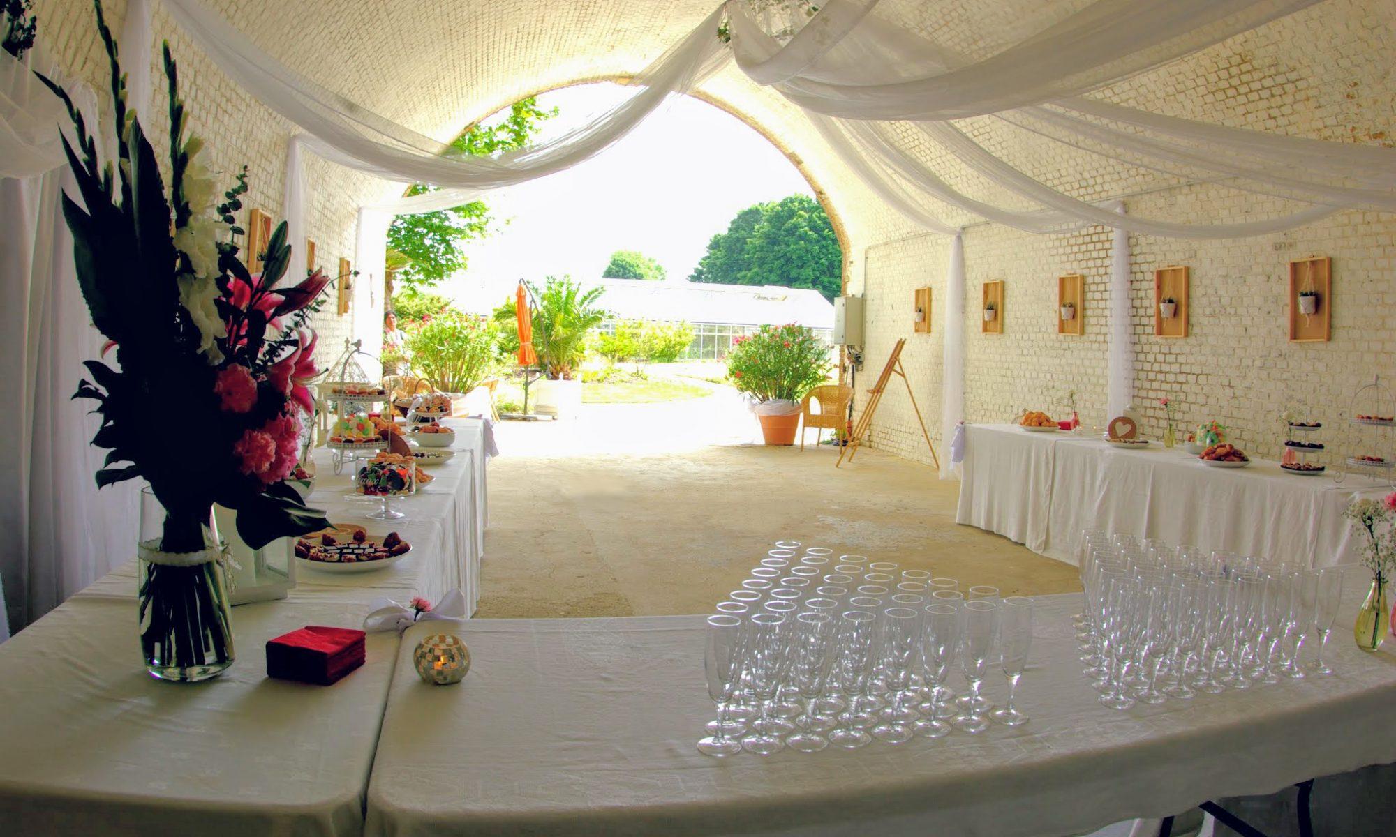 L'Orangeraie - vin d'honneur, réception, repas groupe - le havre